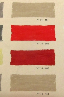 Cotton Canvas Paint Palette Print0