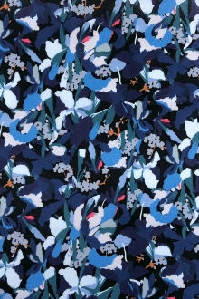 Liberty of London Cotton Lawn Floral Camo Print 0