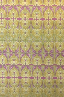 Cotton Broadcloth Mirroring Filigree Print0