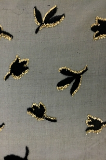 Silk and Lurex Burnout Velvet0