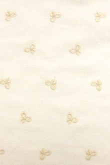 Embroidered Cotton Faille0