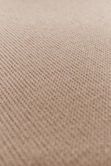 Poly Viscose Blend Knit in Sand0