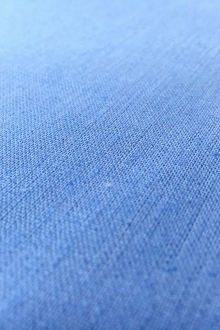 Linen Cotton Blend in Periwinkle0