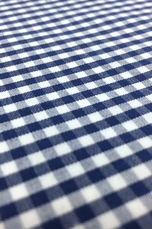 "1/8"" Cotton Gingham in Royal Blue2"