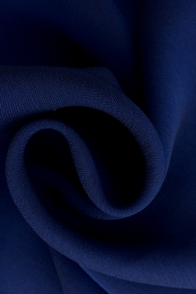 Iridescent Polyester Chiffon in Dark Royal Blue0