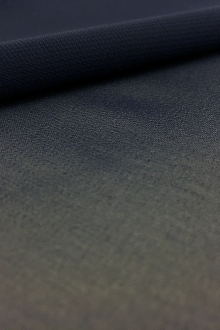Japanese Polyester Chiffon in Navy0
