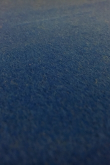 Italian Cashmere Wool Blend Coating in Bright Blue0