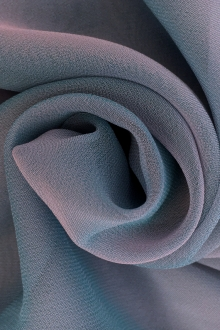 Iridescent Polyester Chiffon in Blueberry0