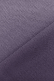 Italian Wool Satin Faille in Amethyst 0