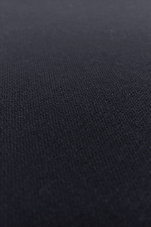 Italian Wool Tricotine in Midnight Navy0