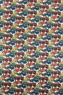 Liberty of London Cotton Lawn Vintage Cars Print 0