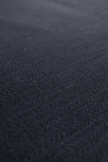 Heavy Linen Satin Upholstery in Navy0