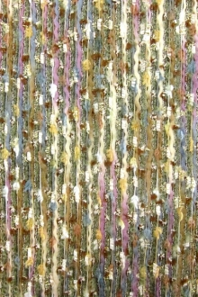 Metallic Wool Mohair and Rayon Tweed0