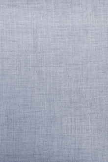 Spanish Viscose and Wool Crepe Challis in Powder Blue0