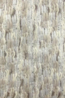 Metallic Cotton Rayon Tweed0