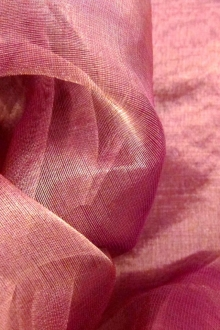 Metallic Silk Organza0