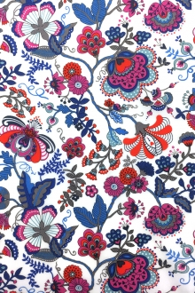 Liberty of London Cotton Lawn Paisley Print0