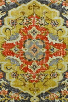 Linen Viscose Upholstery Indian Print0