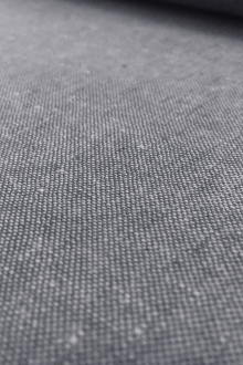 Yarn Dyed Linen Cotton Blend in Graphite0