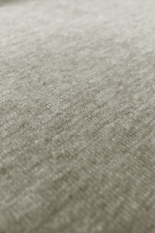 Hemp and Organic Cotton Jersey in Heather Grey0