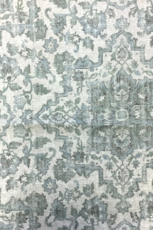 Upholstery Linen With Decorative Degrade Print0