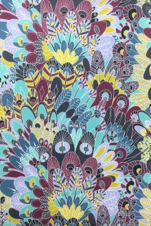 Liberty of London Cotton Lawn Feather Print0