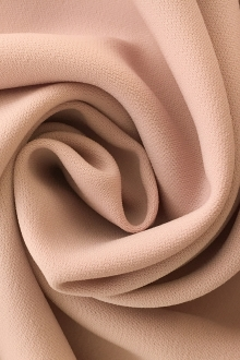 Polyester and Spandex Stretch Crepe in Blush0