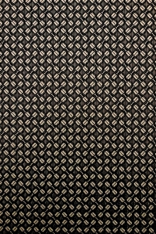 Wool Blend Metallic Brocade0