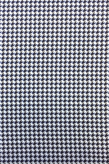 Italian Cotton Houndstooth Shirting 0