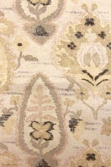 Cotton and Linen Blend Upholstery Floral Print 0