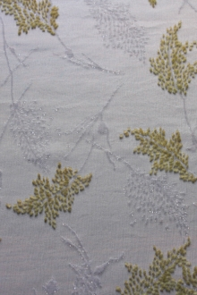 Silk Lurex Cut Velvet0