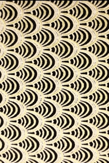 Metallic Guipure Lace0