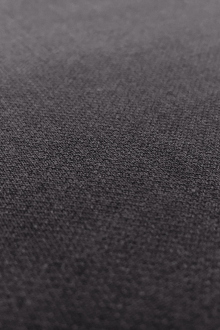 Poly Rayon Spandex Suiting in Charcoal0