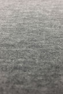 Japanese Cotton Lyocell Ultima Jersey in Heather Grey0