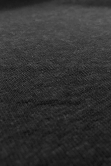 Hemp and Organic Cotton Jersey in Off Black0