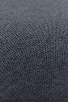 Poly Viscose Blend Knit in Paynes Grey0