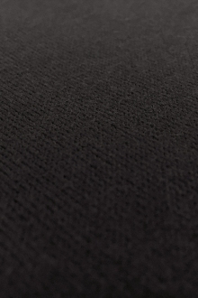 Poly Viscose Blend Knit in Black0