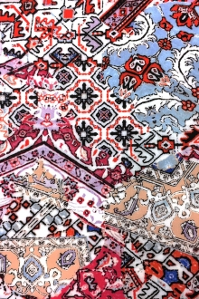 Viscose Batiste With Ornamental Patchwork Print 0