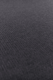 Poly Viscose Blend Knit in Charcoal Grey0