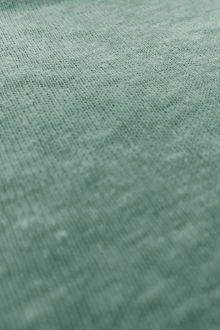 Hemp and Organic Cotton Jersey in Dusty Teal0