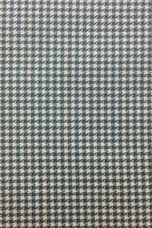 Italian Silk And Wool Blend Houndstooth Suiting0