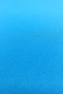 Stretch Cotton Sateen in Aqua0