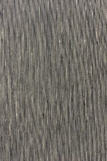Stretch Linen Rayon Blend in Shark Fin Indigo0