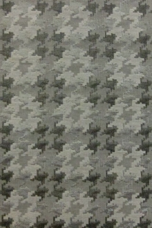 Metallic Houndstooth Brocade0