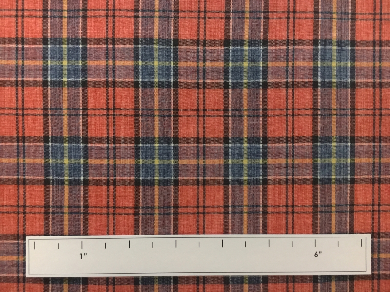 Japanese Woven Cotton Plaid3