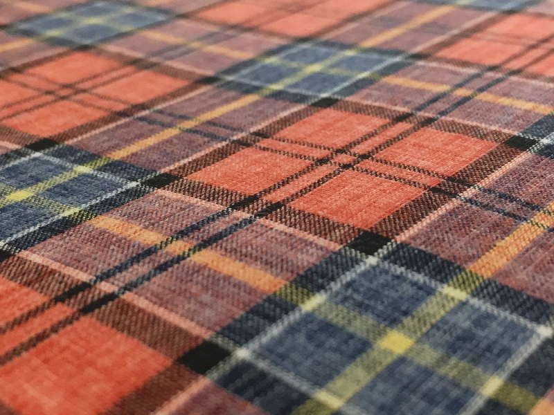 Japanese Woven Cotton Plaid2