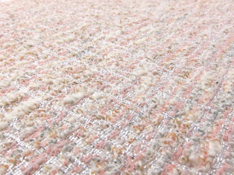 Cotton Acetate Poly Nylon Tweed2