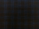 Italian Virgin Wool Bamboo Plaid Suiting0