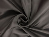 Italian Silk Duchesse Satin in Gunmetal0