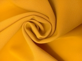 Polyester Stretch Crepe in Mustard0